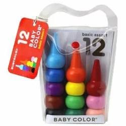 【おまかせ便で送料無料】BabyColor ベビーコロール 12color ベーシック 12色 クレヨン 知育玩具 日本製【RCP】