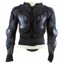 オートバイプロテクター レーシングプロテクター 上半身保護 肩 胸 背中 腰 肘 スパンデックス ライクラ 耐衝撃吸収 メッシュ構造 通気..