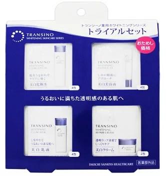 第一三共ヘルスケア トランシーノ 薬用ホワイトニングシリーズ