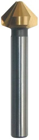 PRC-G9040 カウンターシンク 90°4.0 TIN カウンターシンク90°TiN3枚刃[HSS][喜一工具]