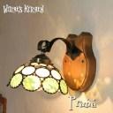 ブラケットライト 【Prima Ballerina・プリマ】 LED対応 グリーン 壁掛け照明 ステンドグラス ランプ