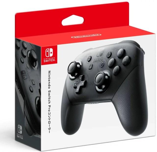 【任天堂純正品】Nintendo Switch Proコントローラー HAC-A-FSSKA