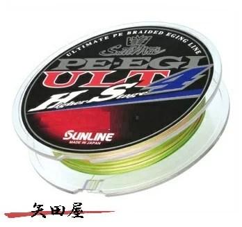 サンライン SUNLINE ソルティメイト PE EGI ULT HS4 0.6号 180m