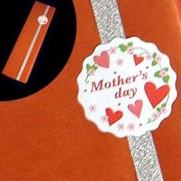 ギフト[2本用] 包装紙:母の日(ギフト箱2本用 母の日用包