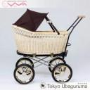 【東京乳母車 プスプス ブラックシリーズ】ブラウン ブラック テラコッタ 二人乗りベビーカー ロングユース 双子 赤ちゃん 送料無料