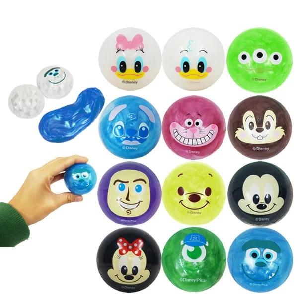 ディズニーまんまるスライムカプセル 玩具 おもちゃ ミッキーマウス ミニーマウス ドロドロ プレゼント 贈り物 おもしろ雑貨 ザッカ ビンゴ景品 バザー