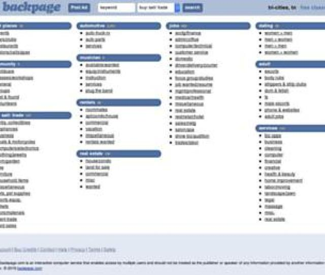 Backpage Seizure Tri Cities Backpage Tn Websites Tricities Backpage Com