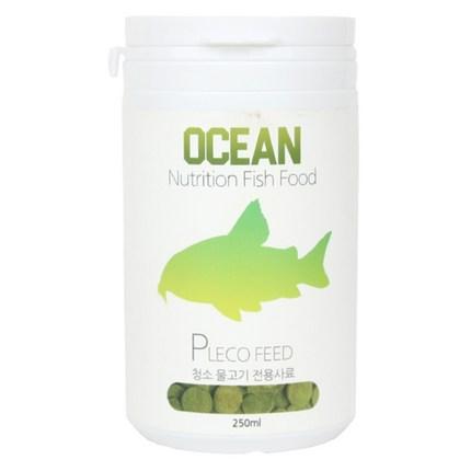 오션 청소 물고기 전용 사료, 250ml, 1개
