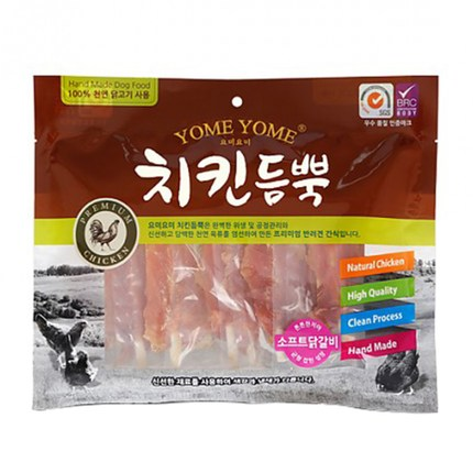 요미요미 강아지간식 치킨듬뿍 400g, 1개, 소프트닭갈비