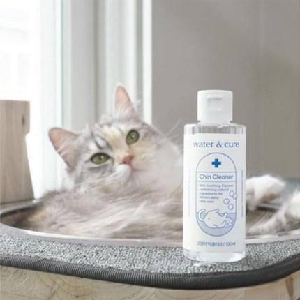 워터앤큐어 고양이 턱클리너, 100ml, 1개