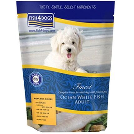 피쉬포독 화이트 피쉬 어덜트 강아지 사료, 6.3kg, 1개