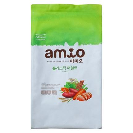 아미오 어덜트 오리 홀리스틱 애견사료, 1.4kg, 1개