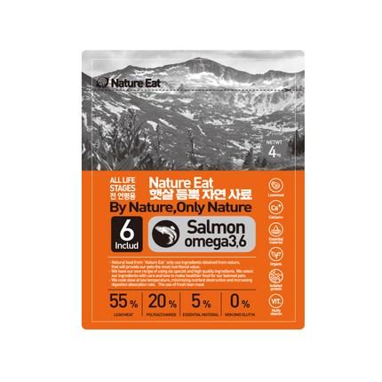 네이처잇 햇살 듬뿍 자연 수제사료, 연어, 4kg