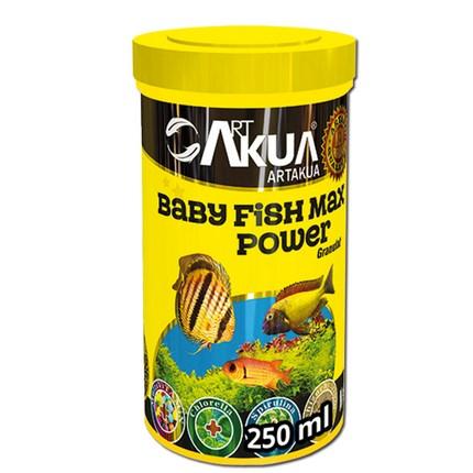 아트아쿠아 베이비 피쉬 맥스 파워 치어 사료, 250ml, 1개