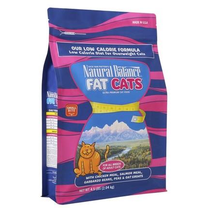 내추럴발란스 팻 캣 포뮬라 드라이 캣 푸드 고양이 건식사료, 닭, 2.04kg