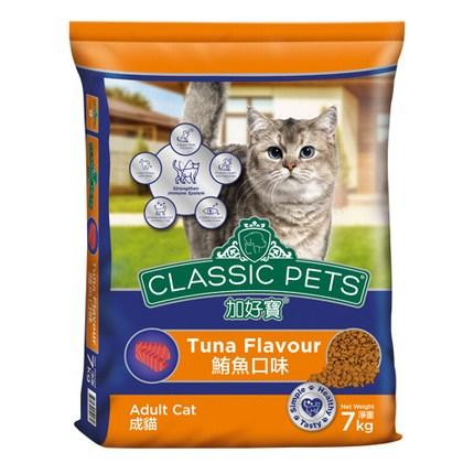 컴페니언펫츠클래식 고양이 사료 참치맛, 7kg, 1개