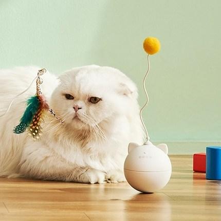 냥품멍품 냥냥펀치 토이볼 고양이 장난감, 혼합색상, 1세트