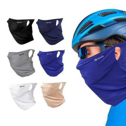 냉감 귀걸이형 스포츠 멀티스카프 자외선 차단 여름 싸이클 낚시 런닝 등산용 멀티프, 곤색