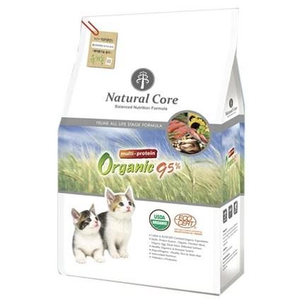 네츄럴코어 유기농 멀티프로테인 고양이 사료, 2.4kg, 1개