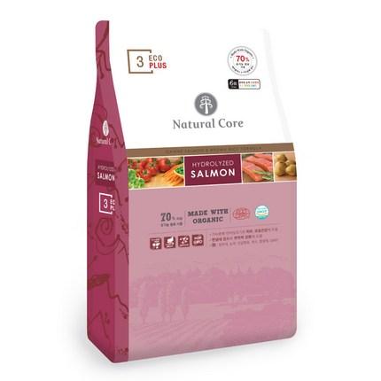 네츄럴코어 전연령 에코플러스3 유기농 6Free 건식사료, 생선, 7kg, 1개