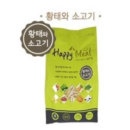해피밀 황태와 소고기 1.2kg, 13500, 13500