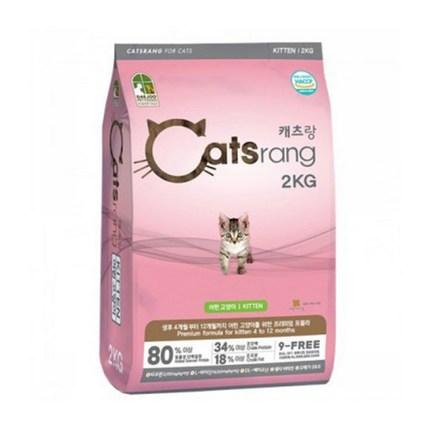 캐츠랑 고양이 사료 기능별 및 중량별 선택하기, 키튼 2kg