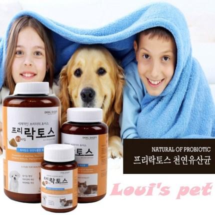 루비스펫 반려동물 강아지 고양이 피부 면역력 향상 천연 유산균 분말 유산균영양제, 1개, 유산균 분말 60g