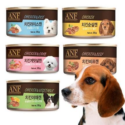 ANF 강아지캔 24개 1박스 모음, 골고루콤보(24개)
