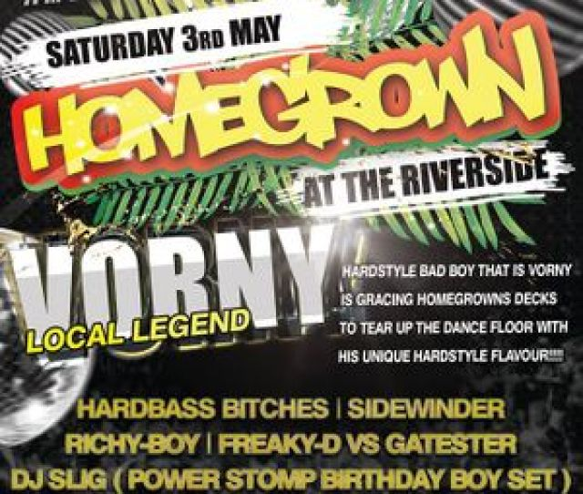 Hardbass Bitches Homegrown  The Riverside Selby