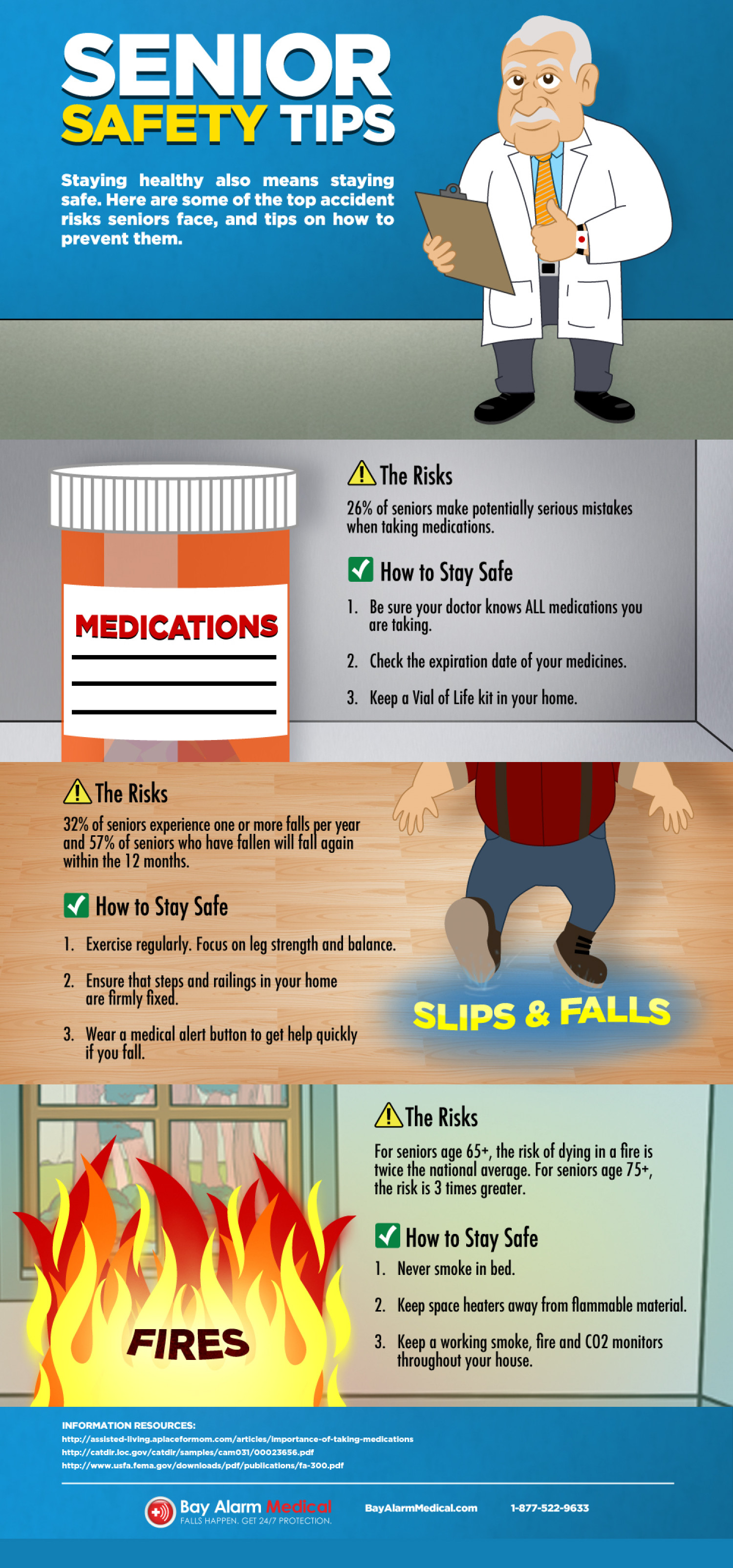 Senior Safety Risks Amp Tips For Staying Safe