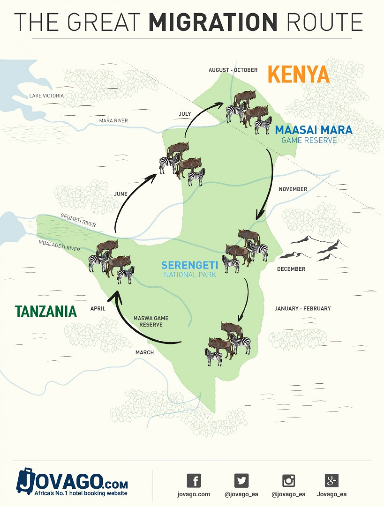 The Great Migration Map
