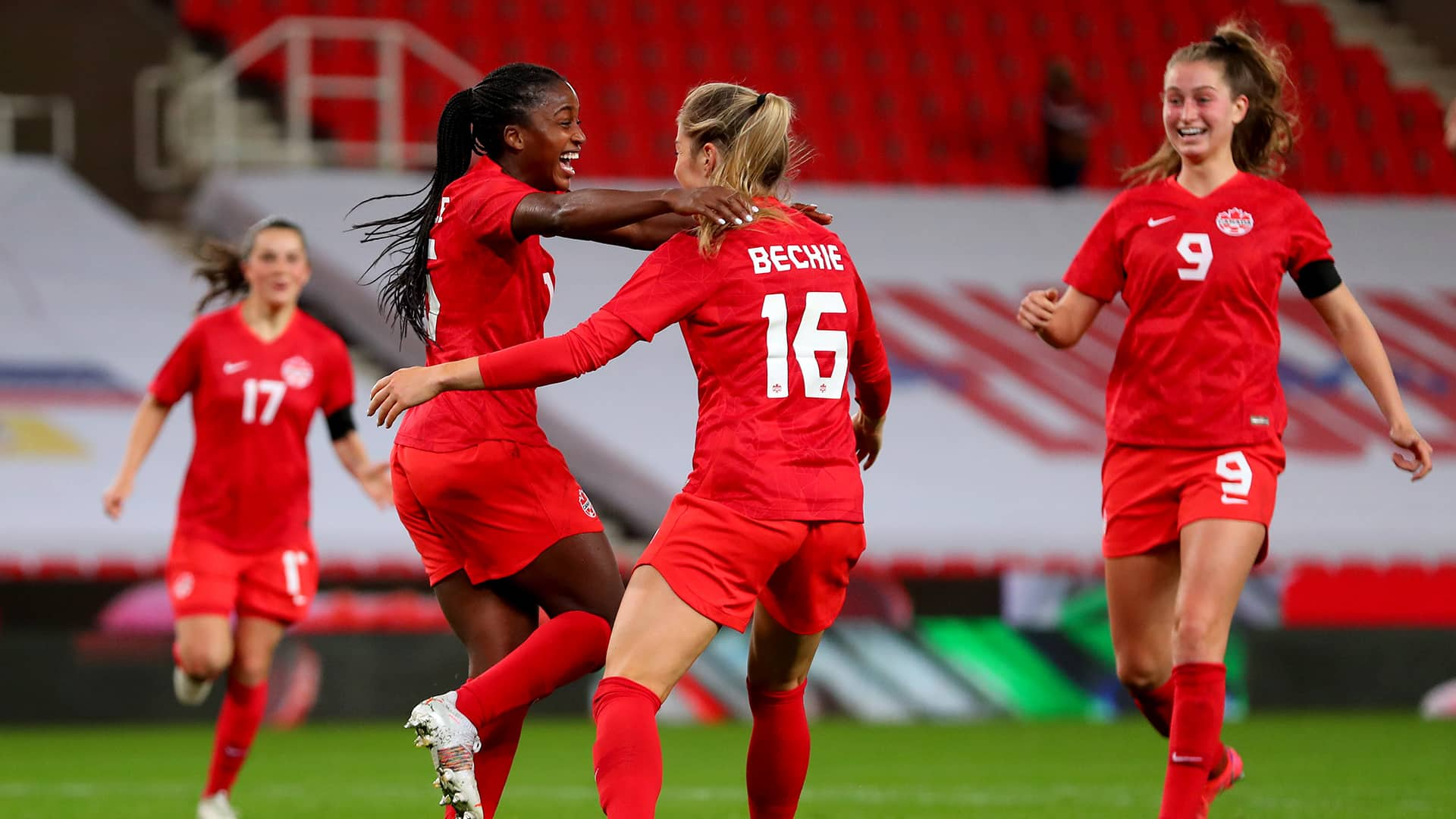 All the squads as they are announced for the women's soccer tournament at. Canadian Women S Soccer Team Roster Revealed For Tokyo Games Cbc Sports