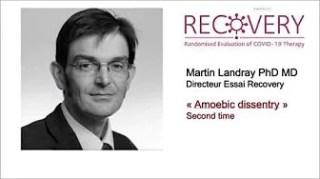 Recovery Martin Landray FranceSoir