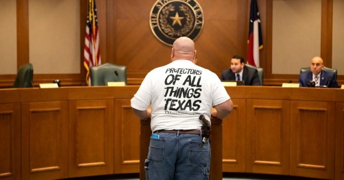 Carrying of handguns sees major breakthrough in Texas House