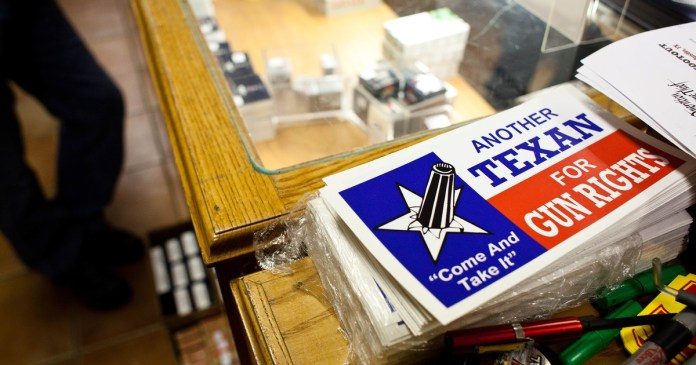 Texas Republicans are vowing to defy any new federal gun rules. Experts say it's largely a symbolic gesture.