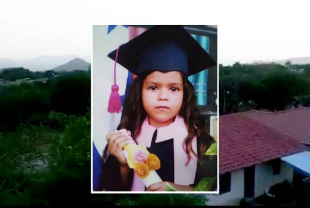 "Six-year-old Heyli was separated from her father after crossing the U.S. border in late May. Her mother and aunt, who have spoken to her by phone, say she cries constantly and begs them to take her away from the Arizona facility where she is being held.   ""There's nothing else I can say to say to make her stop crying,"" Heyli's mother said."