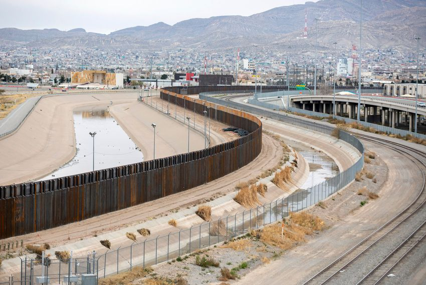 From 2005-08 — before fencing went up between El Paso and Juarez — El Paso's violent crime rate fell below the national average.