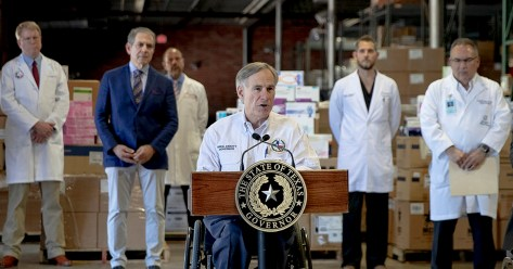Senate passes bill to curb Texas governor's power to shut down
