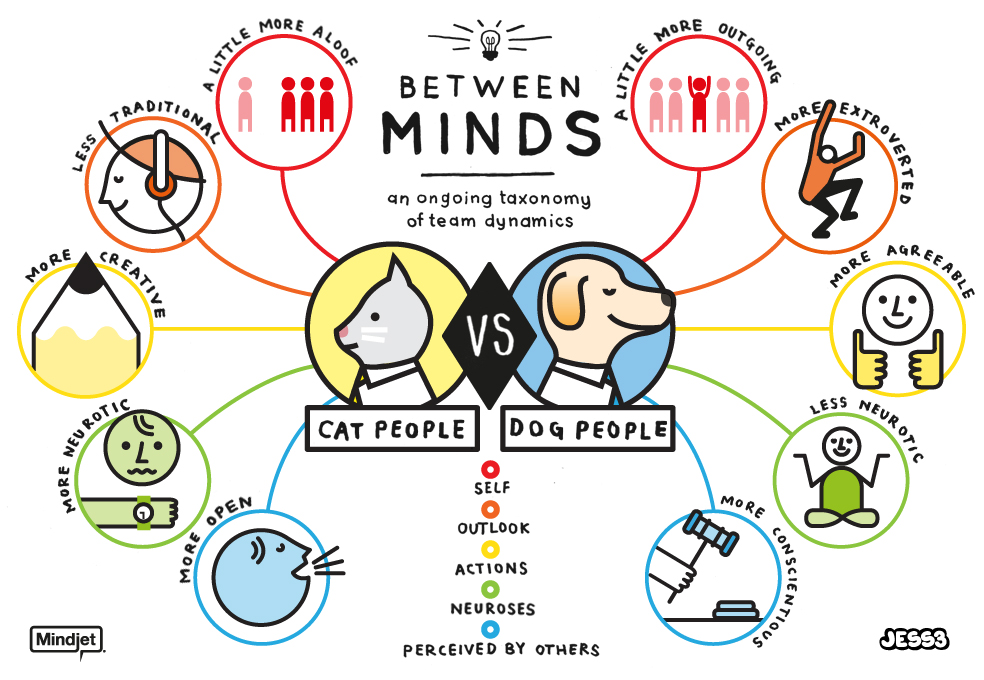 Cat Person Vs Dog Person (Image from http://visual.ly/cat-person-vs-dog-person )