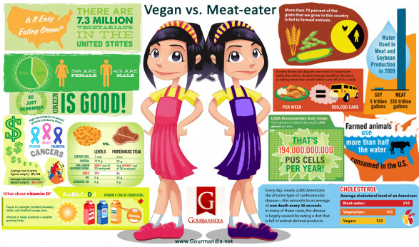 Vegan vs. Meat-Eater