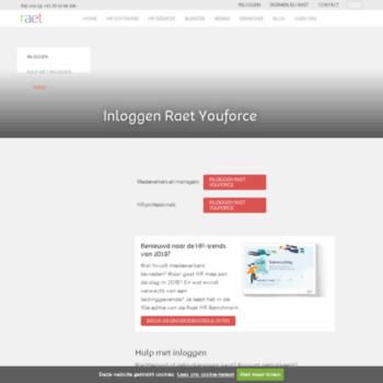 youforce.nl at Website Informer. Inloggen. Visit Youforce.