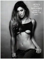 Belen Rodriguez Vanity Fair Febrero 2012