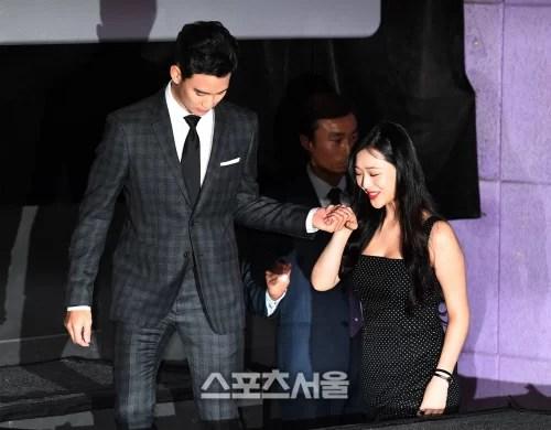 [SS포토]김수현, '설리! 내 손을 잡아!'