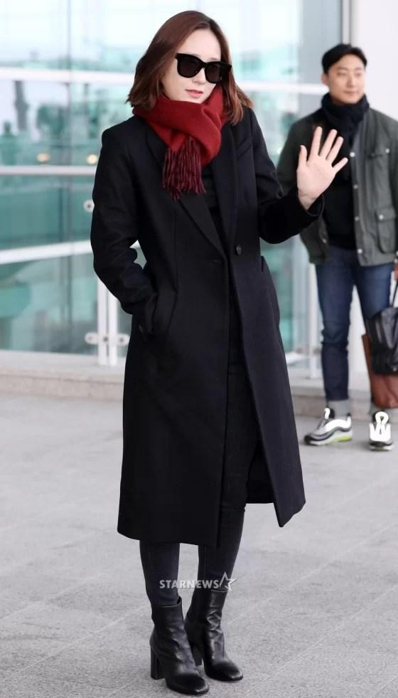 [★포토]크리스탈, '심플한 코트 룩'