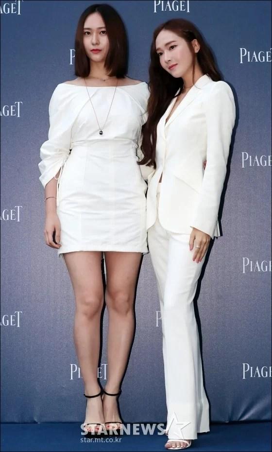[★포토]크리스탈-제시카, '돋보이는 자매 미모'