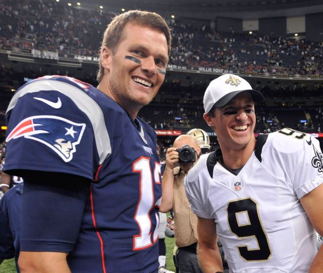 Drew Brees On Tom Brady Its About Championships Not Money The