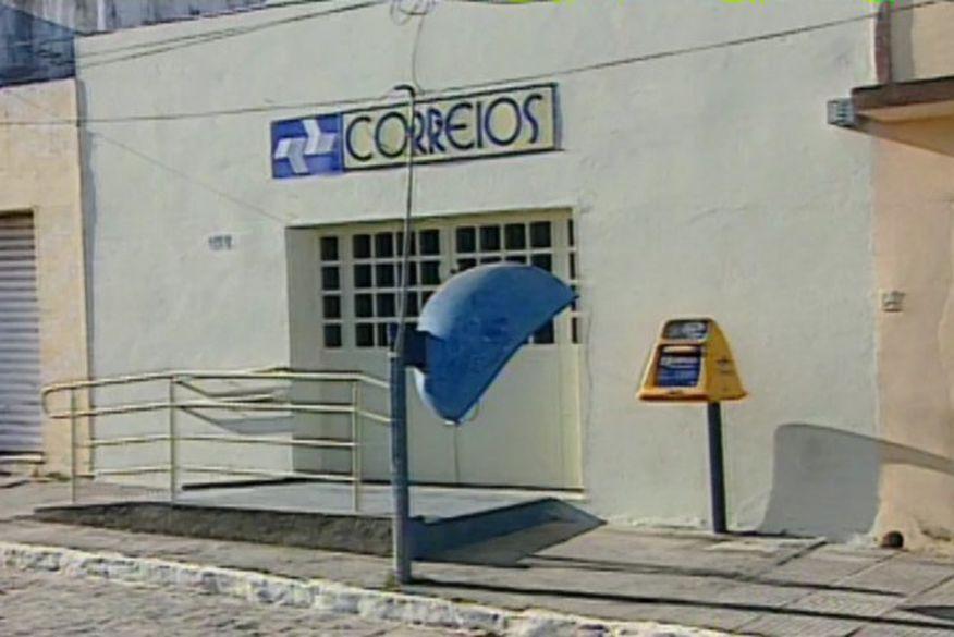 agencia dos correios de alcantil - Bandidos explodem agência dos correios em Alcantil