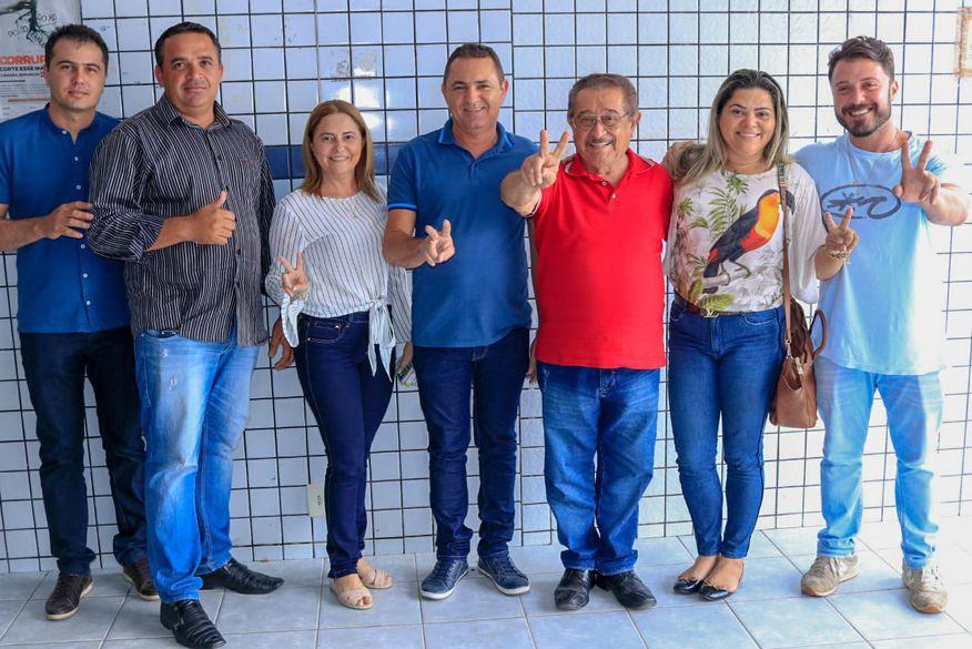 santa helena - Maranhão recebe adesão da oposição de Santa Helena, ex-prefeitos de Malta e Poço José de Moura