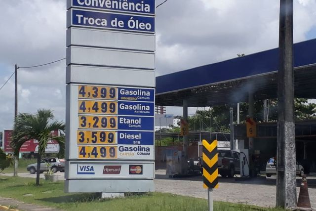 preco   gasolina   clickpb - Preço da gasolina chega a R$ 4,39 em postos paraibanos e variação deixa Procon em alerta