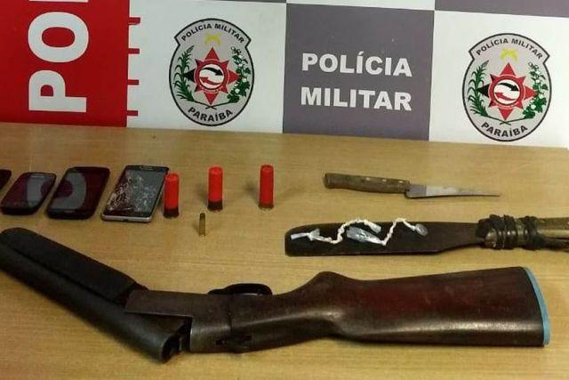ipes - Polícia prende em João Pessoa suspeito de homicídios e de atuar no tráfico de drogas em Santa Rita
